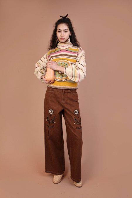 Meadows Tudor Jeans - Terracotta