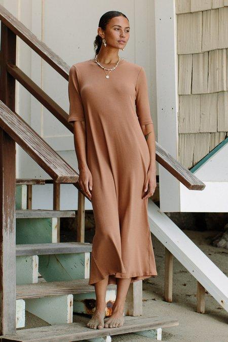 Rachel Pally Hemp Rib Betsy Dress - Acorn