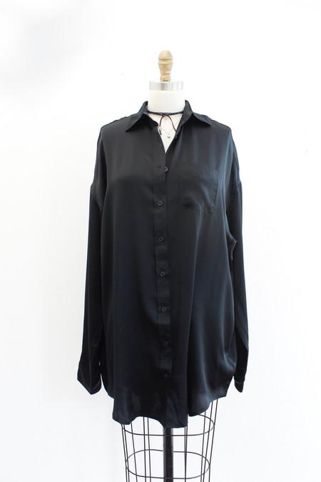 R13 Oversized Silk Shirt