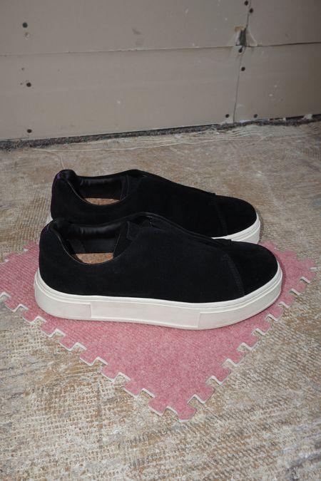 pre-loved Eytys Doja So Suede Slip On Sneaker - Black