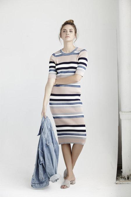 Callahan Stripe T-shirt Dress