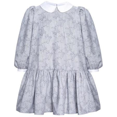 Kids paade mode brunia dress - grey