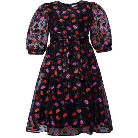 Kids paade mode wildrose maxi dress - black