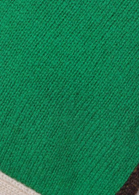 Kids Caramel Maik Baby Bonnet - Emerald Green