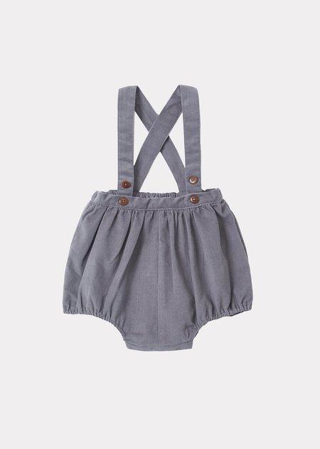 Kids Caramel Pare Baby Romper - Dove Grey