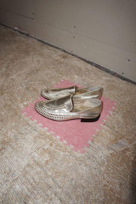 Pre-loved Rachel Comey Folar Flat - Gold