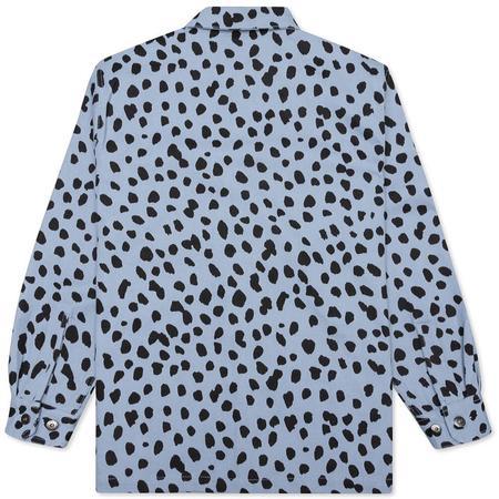 PLEASURES Dalmatian Work Jacket - Light Blue