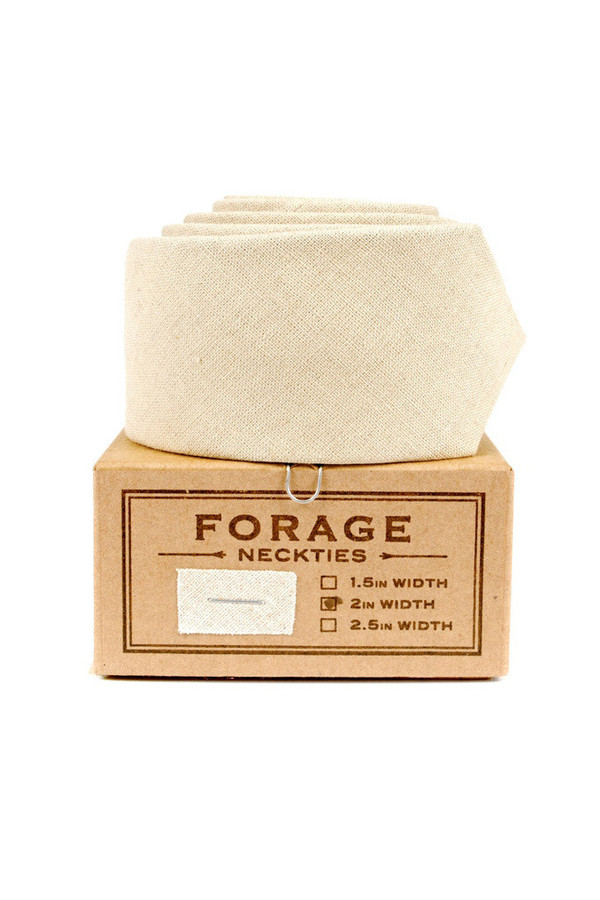 Forage Necktie Canvas