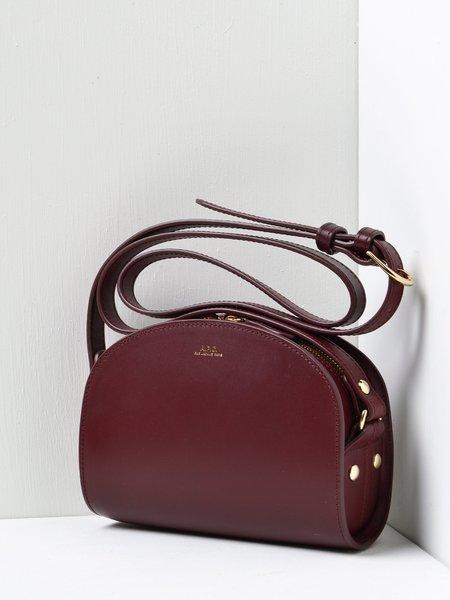 A.P.C. Sac Demi Lune Mini GAE VINO Bag