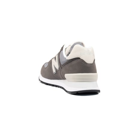 New Balance 574 Suede Mesh Sneaker - Grey