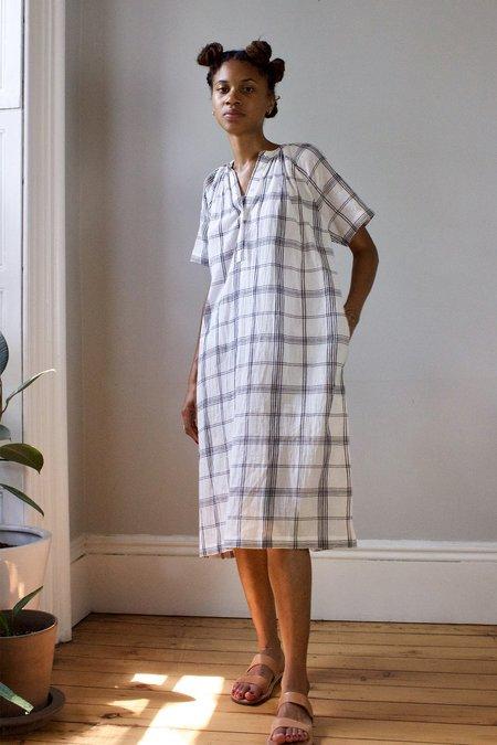 M.Patmos Adelphi Dress - Ivory/Black Plaid