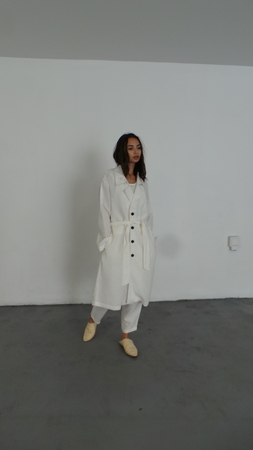 ILANA KOHN LISA TRENCH - WHITE