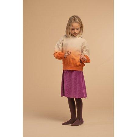 Kids Long Live The Queen Velvet Skirt - Purple