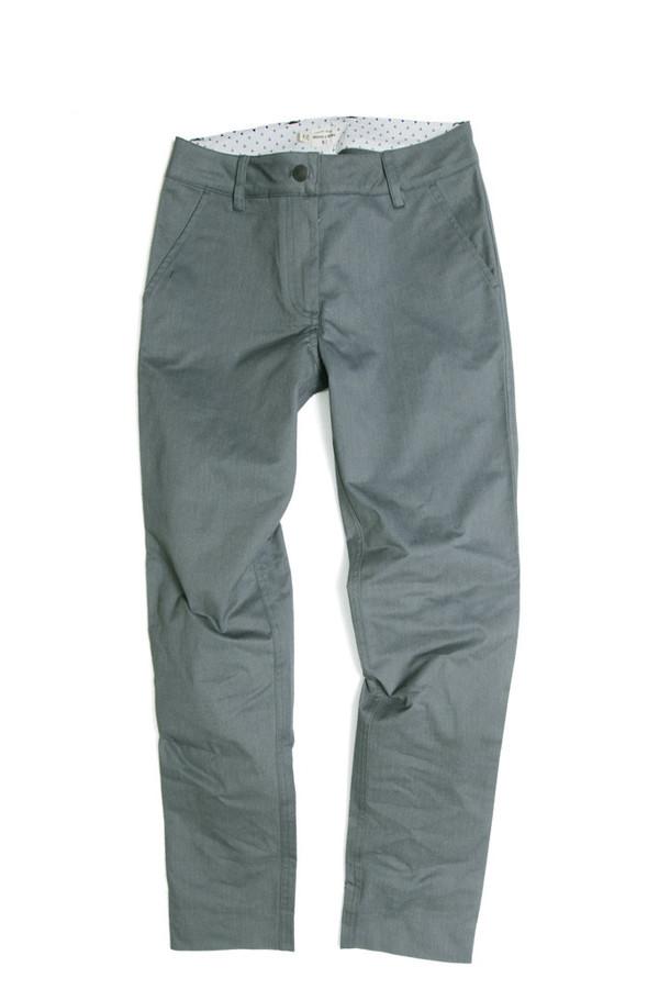 Bridge & Burn Market Trouser Field Grey