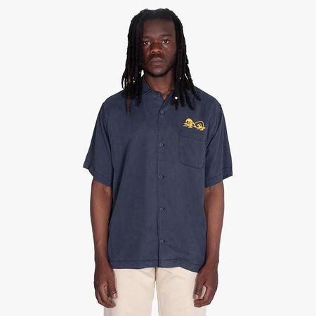 General Admission Head High Short Sleeve Shirt - Navy