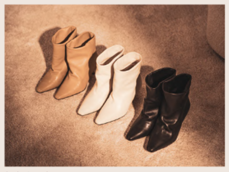 Ivylee Copenhagen Penelope Boot - Off-White