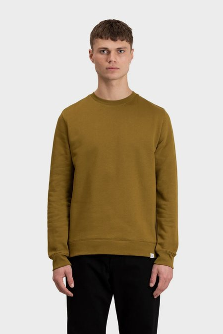 Norse Projects Vagn classic crew Tee - brass yellow