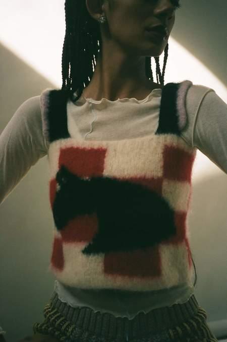 Sophia Khaled Picnic Knit Cami