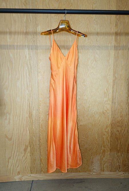 SVNR Vee Midi Slip Dress - Sunset