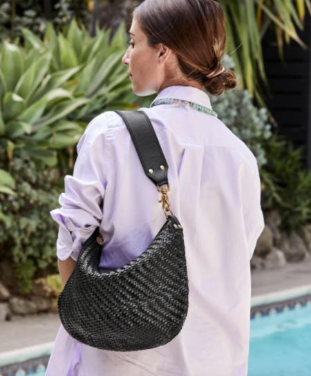 Clare V. Moyen Messenger Bag - Black