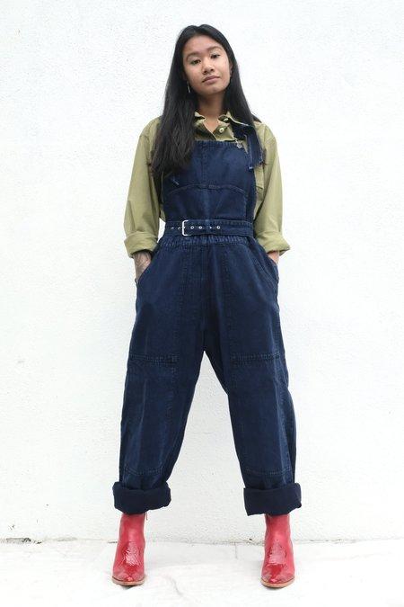 Rachel Comey Meg Overalls - Navy