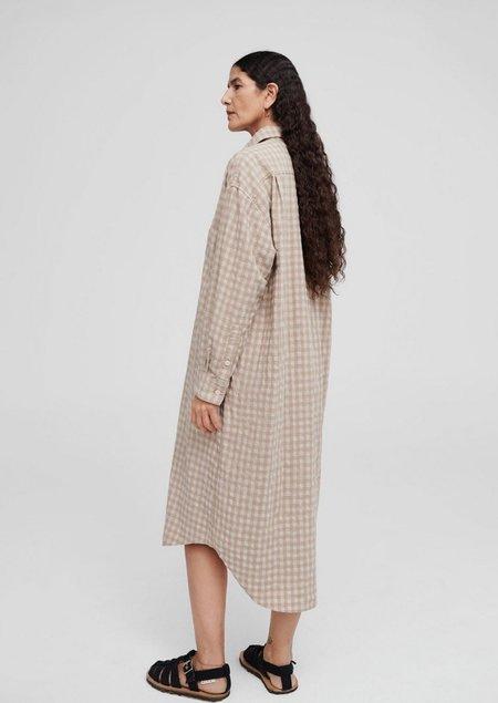Mónica Cordera Checkered Shirt Dress - Nomad