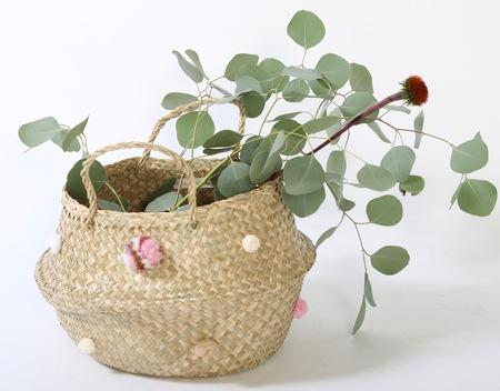 Folk Fortune POM POM basket