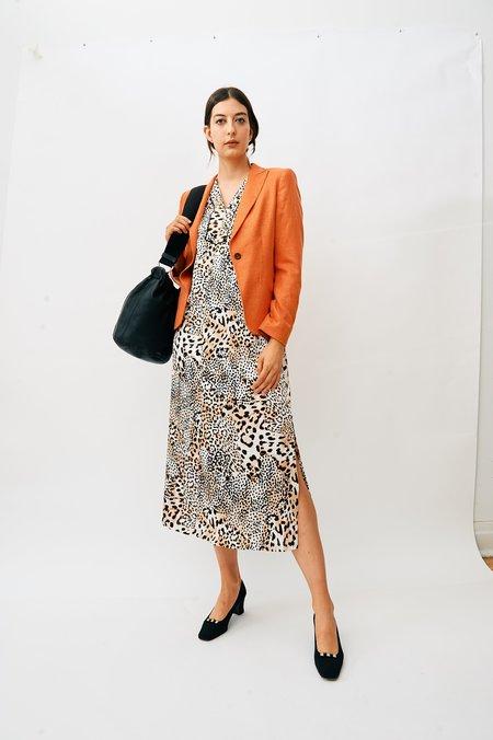 PRE-LOVED Escada Orange Blazer - ORANGE