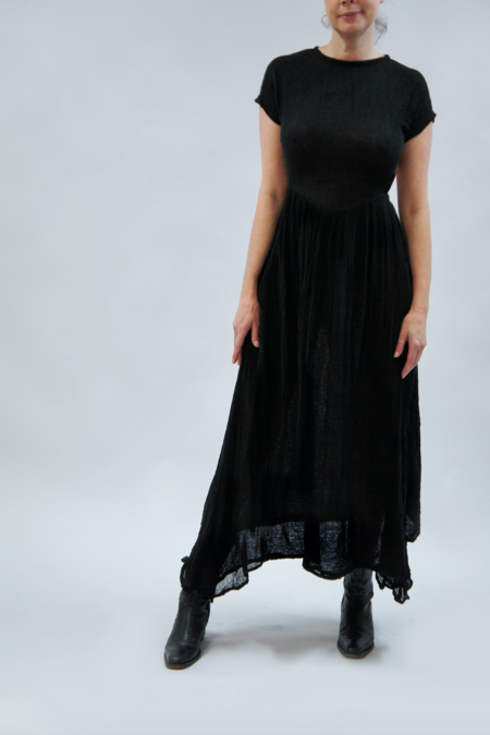 Jen's Pirate Booty Navi Dress - GAUZE BLACK