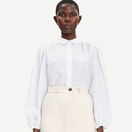 Samsoe Samsoe Mejsa Shirt - White