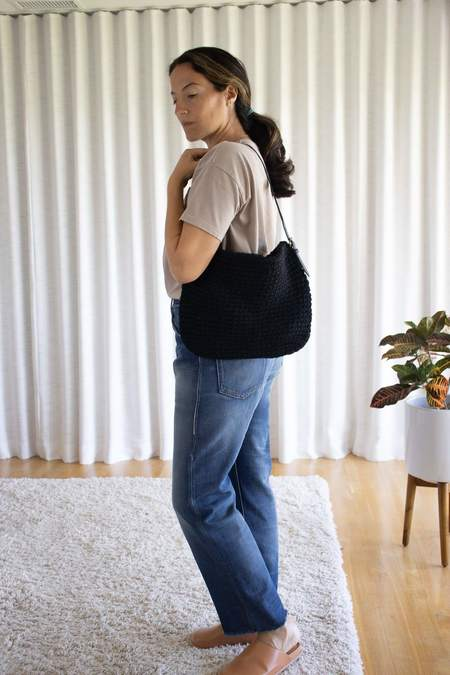 Ichi Antiquités Shoulder Tote Bag - Black