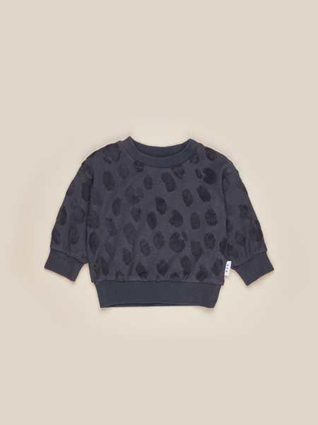 Kids Huxbaby Animal Sweatshirt - Ink