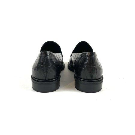 Vagabond Frances Loafer - Black Croco