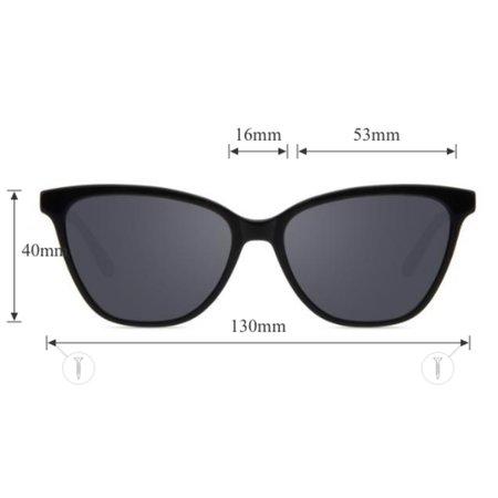 little high, little low garage rock sunglasses - black