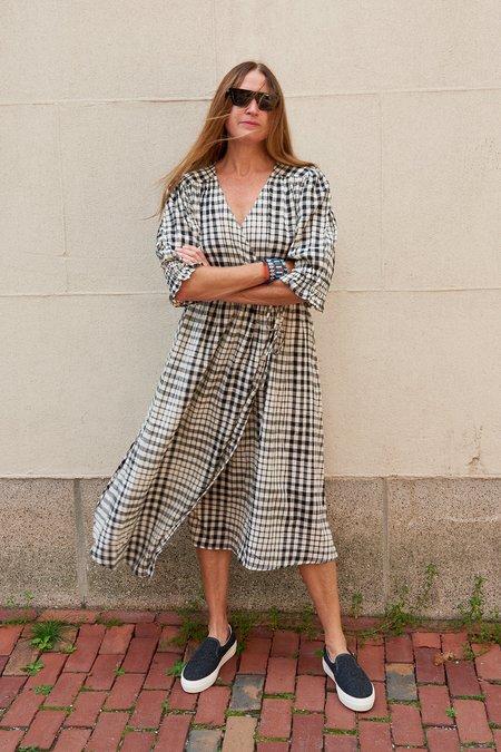 Apiece Apart Lucinda Wrap Dress