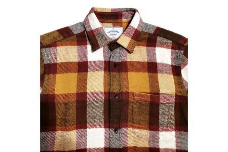 Portuguese Flannel Shirt - Terracotta Check