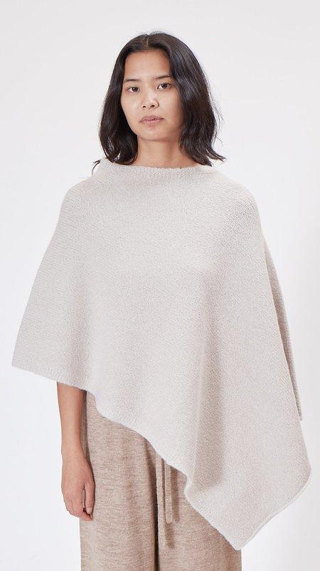 Lauren Manoogian Fold Poncho - Plaster