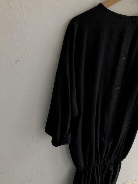 Black Crane Baloon Jumpsuit
