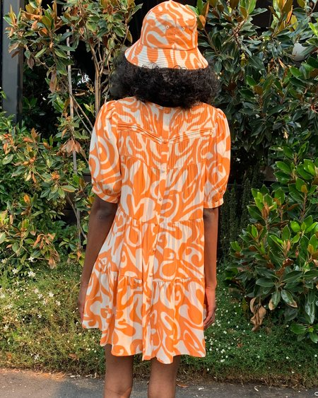 Find Me Now Dream on Dress - Creamsicle Swirl
