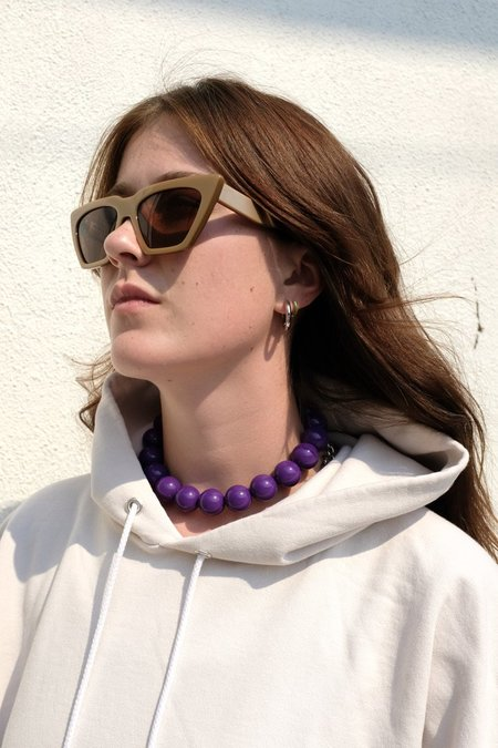 Rachel Comey Ayala Choker - Purple