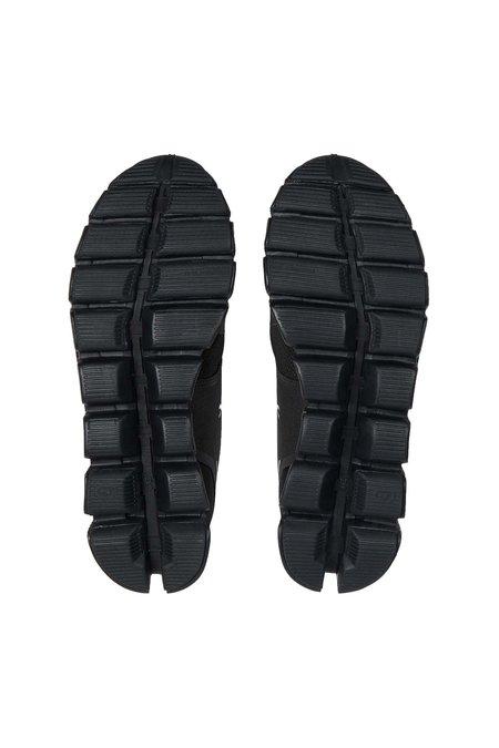 ON Running Women's Cloud Waterproof Shoes - Lunar Black