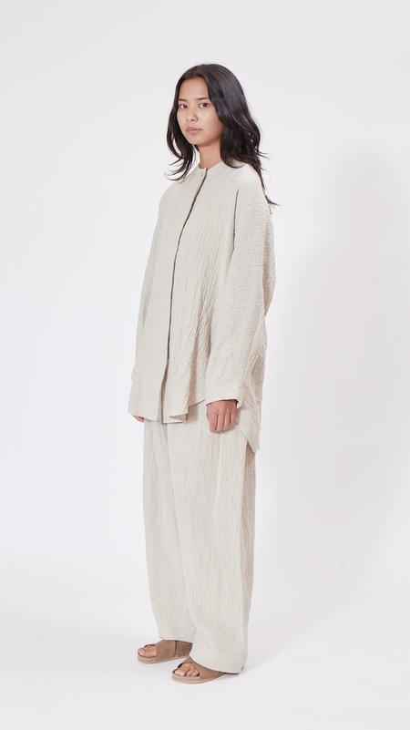 Lauren Manoogian Draft Shirt - Natural