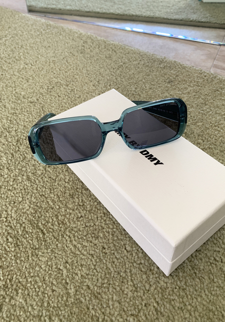 DMY by DMY Luca Sunglasses - Transparent Teal