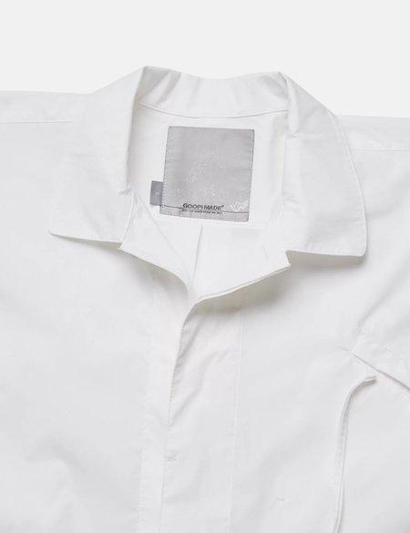 GOOPiMADE Softbox Oversized Shirt - White