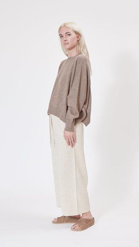 Lauren Manoogian Facil Pants - Ecru Flax