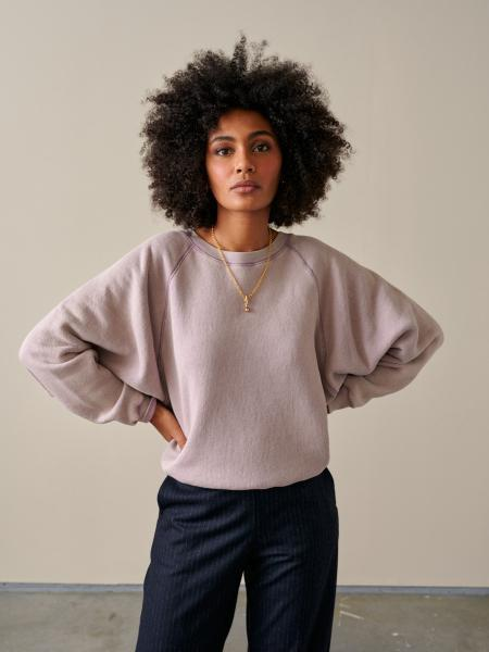 Bellerose Fiksh Sweatshirt - Lilac