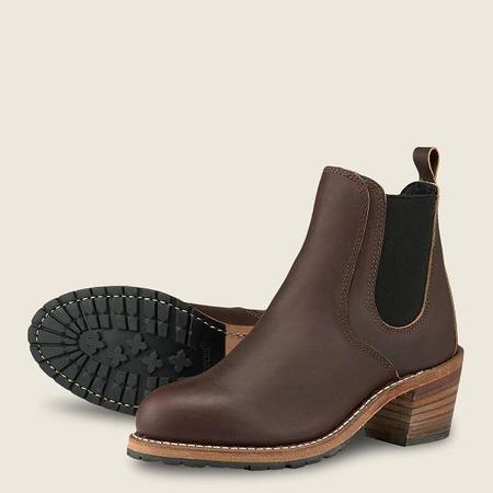 Red Wing 3392 Women's Harriet Heeled Boot - Mahogany Ori-iginal Leather