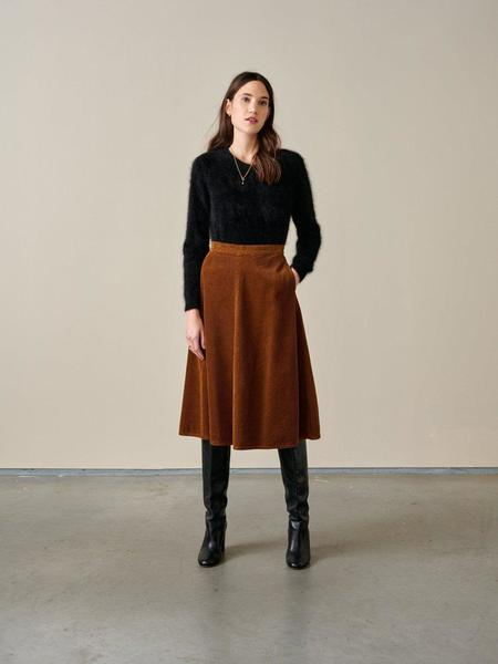Bellerose Appleby Skirt - Chestnut