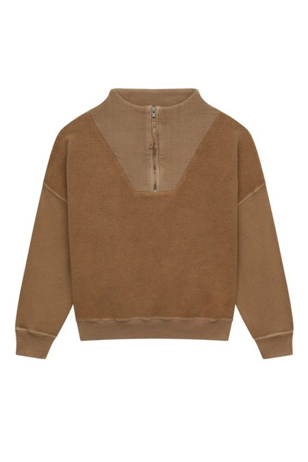 The Great. The Trail Pullover - Oat