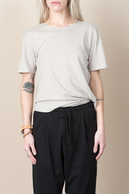 Kowtow Building Block Crew Neck In Oatmeal
